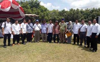 Sejumlah kelompok tani penerima bantuan alsintan di Sukamara.