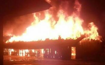 Kebakaran Panti Asuhan Ayah Bunda pada Selasa (21/11/2017) malam.