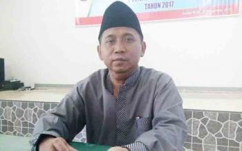 Komisioner KPU Lamandau divisi teknis penyelenggara, H. Abdul Basir.