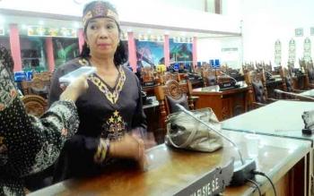 Anggota Komisi A DPRD Kota Palangka Raya Anna Agustin Elsye.