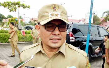 Wakil Bupati Gumas Rony Karlos.