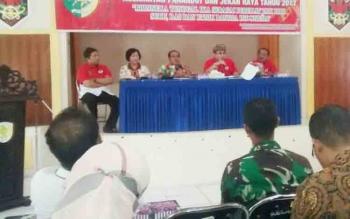 Sosialisasi dan Pembentukan Forum Pembauran Kebangsaan oleh Kesbangpol Kota Palangka Raya, Jumat (24/11/2017)