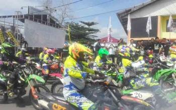 Ratusan Rider Ramaikan Jabul Kota Air One Day Trail
