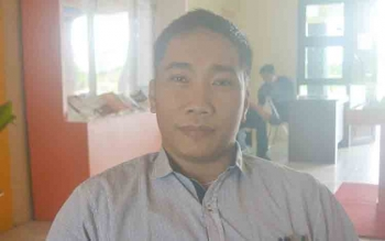 Ketua Panwaslu Katingan Yosafat Ericktovia Kawung.