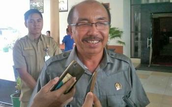 Ketua DPC PDI Perjuangan yang juga Ketua DPRD Katingan, Ignatius Mantis Ledie Nussa