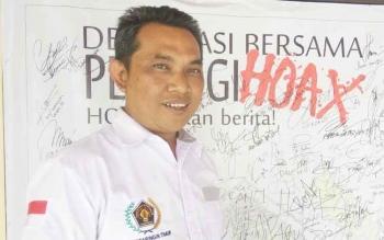 Wartawan senior di Kota Sampit, Didi Syachwani