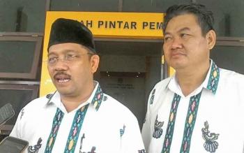 Pasangan independen yang bakal meramaikan pilkada Katingan, Fahmi Fauzi - Maspek J Garang