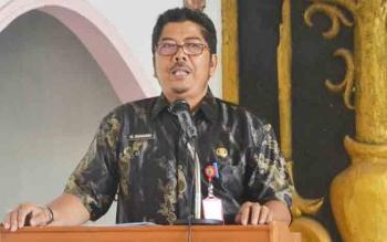 Asisten I Setda Barito Selatan Suhardi.