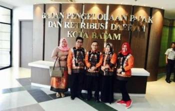 Anggota Komisi II DPRD Barito Utara saat melaukan kunjungan kerja ke badan Pengelola Pajak dan retribusi daerah Kota Batam
