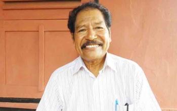 Bernadus Letlora, alumni STIH Tambun Bungai angkatan pertama