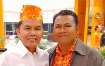 Ketua Kadin Kotim Susilo dan Ketua DAD Kalteng H Agustiar Sabran.