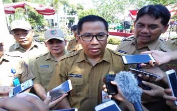 Kepala Dinas Pekerjaan Umum dan Perumahan Rakyat (PUPR) Kalimantan Tengah, Leonard S Ampung