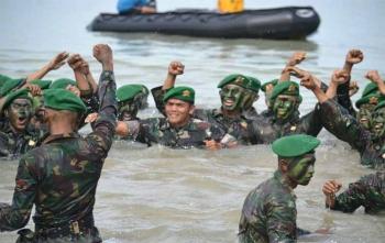Sebanyak 138 prajurit infanteri mengikuti latihan Yudha Wastu Pramuka
