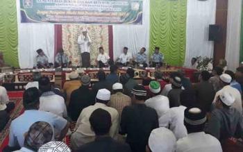 Peringatan Maulid Nabi Muhammad Saw 1439 H di Rutan Kelas IIA Palangka Raya, Rabu (6/12/2017).