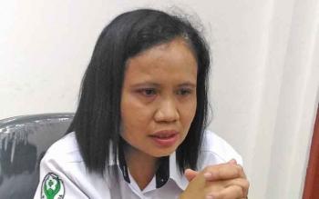 Direktur Badan Layanan Umum RSUD Kuala Kurun, Kabupaten Gunung Mas, Ruth Pakpahan.