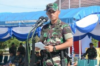 Danrem 102/Panju Panjung Kolonel Arm M Naudi Nurdika.
