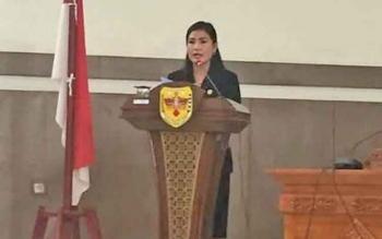Anggota Dewan Perwakilan Rakyat Daerah (DPRD) Kabupaten Gunung Mas (Gumas) Elvi Esi