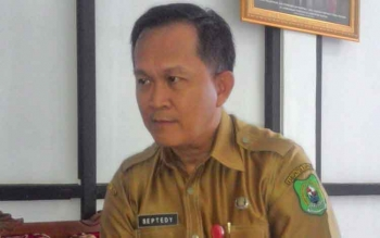 Kepala Dinas Penanaman modal dan Pelayanan Terpadu Satu Pintu (PM-PTSP) Septedy Jasmin