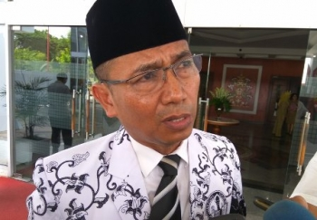 Kepala Dinas Pendidikan Kalteng Slamet Winaryo.