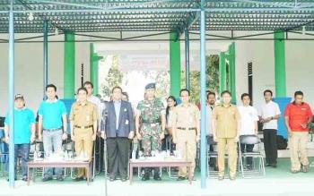 Bupati Barito Utara, Nadalsyah menghadiri pembukaan Kejuaraan Panahan Isen Mulang Open 2017 di Kota Palangka Raya