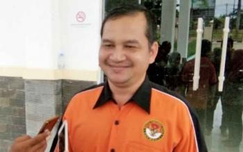 Ketua Panwaslu Lamandau, Bedi Dahaban.