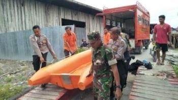 Tim saat berupaya melakukan pencariam korban tenggelam
