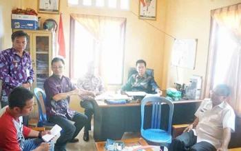 Rapat pembebasan tanah unutk lokasi perkantoran pemerintah kabupaten Barut.