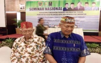 Sabran Achmad dan Lukas Tingkes, tokoh Dayak Kalimantan Tengah