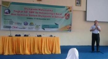 Kepala SMP dan SMA Semesta Boarding School Imam Husnan Nugroho