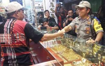Di Palangka Raya Pembeli Emas Meningkat 30 Persen