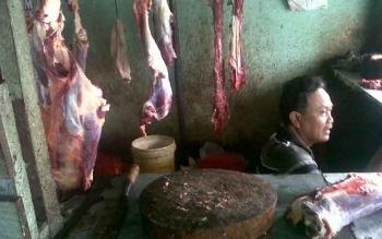 Sehari Jelang Natal, Harga Daging Sapi di Kasongan Tembus Rp140 Ribu Per Kilo