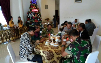 Wakil Bupati Gunung Mas Harapkan Natal dan Tahun Baru Kondusif