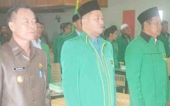 Bupati Sakariyas Hadiri Pelantikan Pengurus PAC PPP se-Katingan