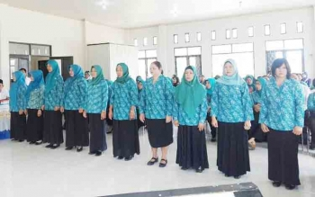 10 Ketua Tim Penggerak PKK Desa Se-Kecamatan Montallat Dilantik