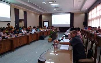 DPRD Kalteng Kembali Bahas Hasil Evaluasi Mendagri