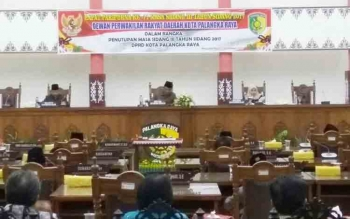 APBD Kota Palangka Raya 2018 Sudah Diketok
