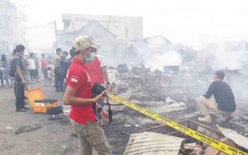 Akibat Kebakaran Pasar Pelita, Ratusan Orang Terpaksa Mengungsi