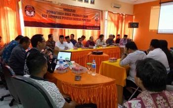 Belum Tentu Bisa Maju, Calon Perseorangan Tetap Hadiri Sosialisasi Pendaftaran ke KPU