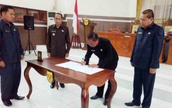 APBD Kabupaten Gunung Mas 2018 Disahkan
