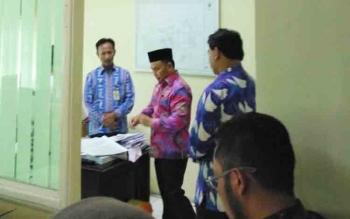 Gubernur Sidak Kantor Dinas PUPR Kalteng