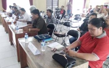 11.480 Dukungan Calon Perseorangan di Kecamatan Jekan Raya Tidak Memenuhi Syarat