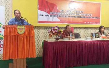 Panwaslu Rapat Koordinasi Pengawasan Pilkada Gunung Mas