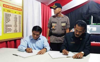 Paripurna Raperda Pengangkatan Dan Pemberhentian Perangkat Desa Ditunda