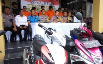 Kasus Curanmor Mendominasi Tindak Pidana di Palangka Raya