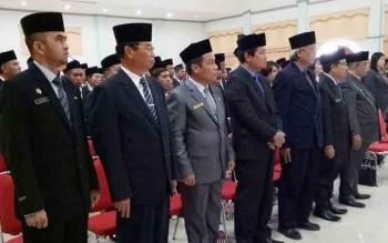 Ini Delapan Pejabat Eselon II Yang Dilantik Bupati Gunung Mas