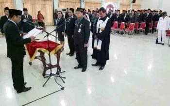 Anggota DPRD Harapkan Pejabat Yang Baru Dilantik Bekerja Dengan Baik