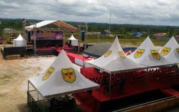 Perayaan Malam Pergantian Tahun Dipusatkan di Stadion Mini Kuala Kurun