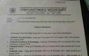 DPRD Sesalkan Cuti Berjamaah Dokter Rumah Sakit