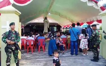 TNI dan Polri Dinilai Sukses Amankan Natal dan Tahun Baru di Kotawaringin Timur