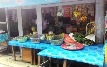 Pedagang Ikan di Ojek Wisata Kereng Bangkirai Dapat Rejeki Dari Ramainya Wisatawan